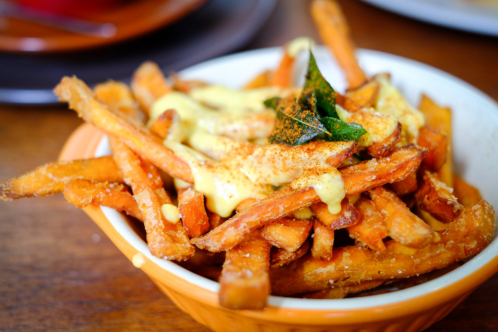 Sin Lee Foods: Salted Egg Sweet Potato Fries