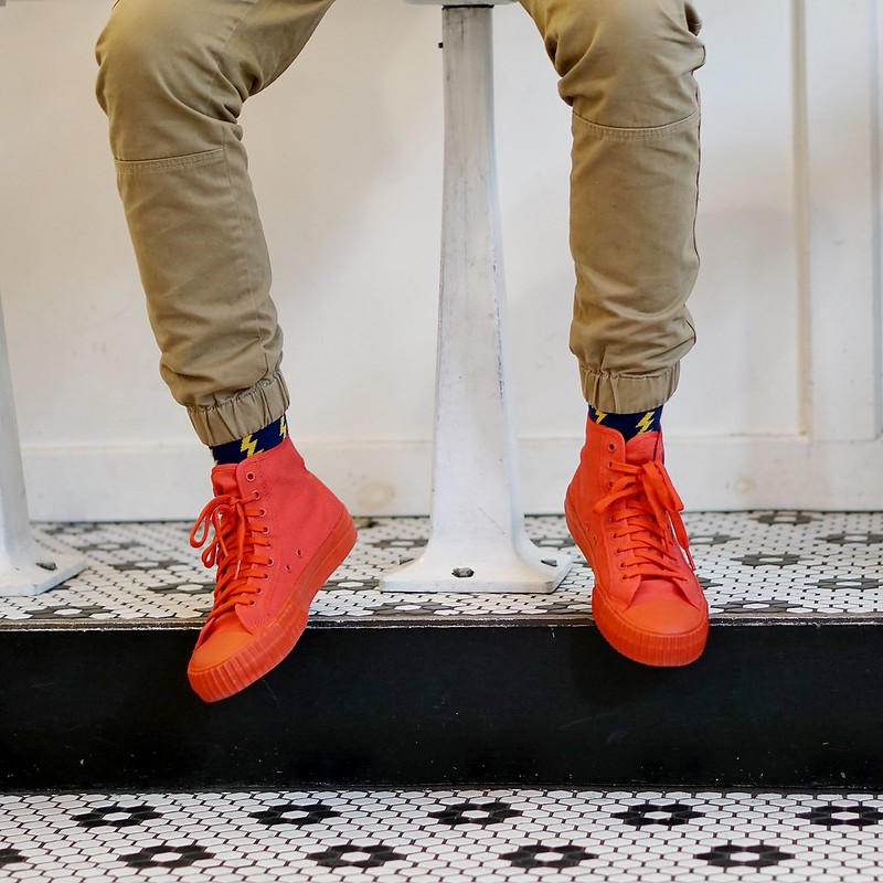 Red Mens Sneakers - PF FLYERS