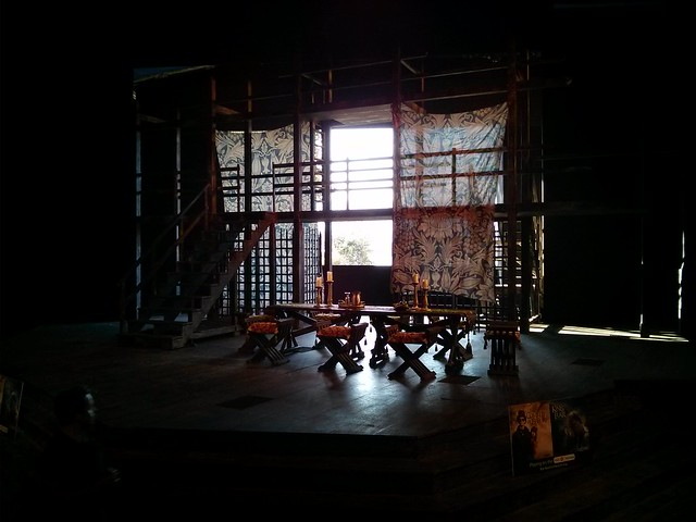 Set of King Lear at Bard on the Beach