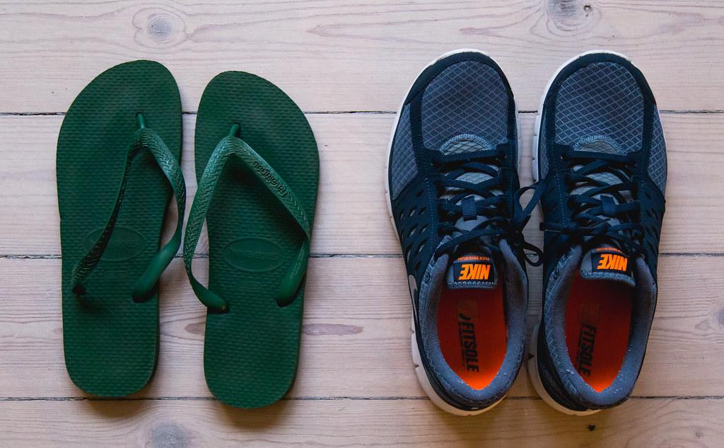 His & Hers: Vores fodtøj til rejsen