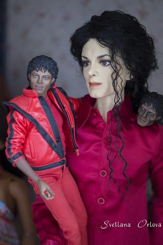 Hot Toys Michael & BJD