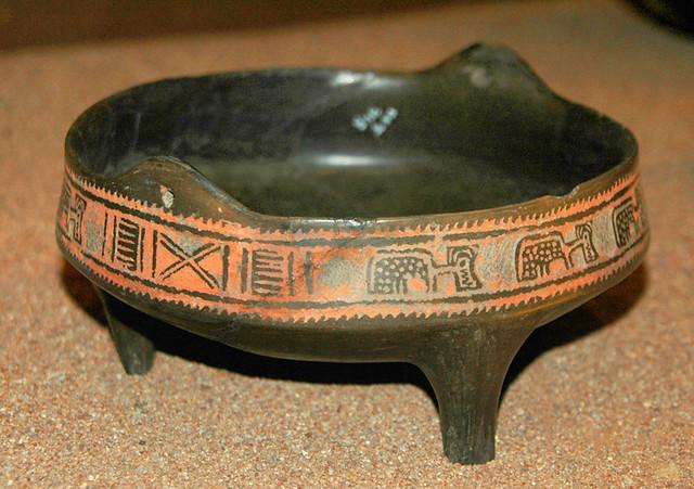Pottery from La Quemada, Meso-American ruins near Guadalajara, Mexico