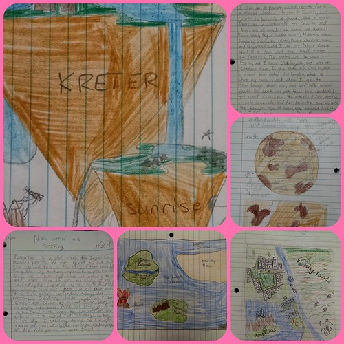 WorldBuilding Collage