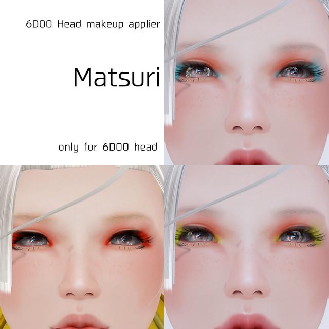 *NAMINOKE*Makeup for 6DOO head