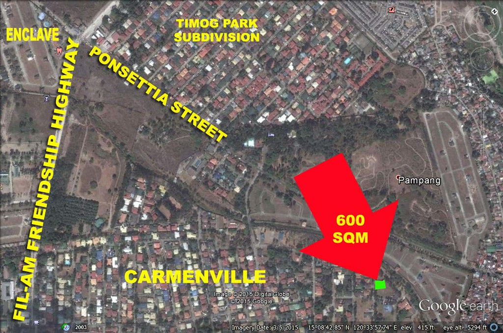 Lot for Sale Angeles City Marisol
