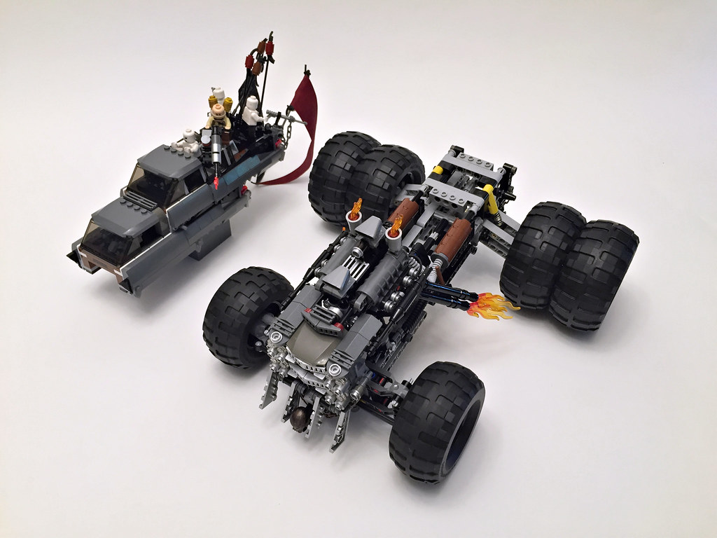 Gigahorse Frame and Body   Lego Warboys   Flickr