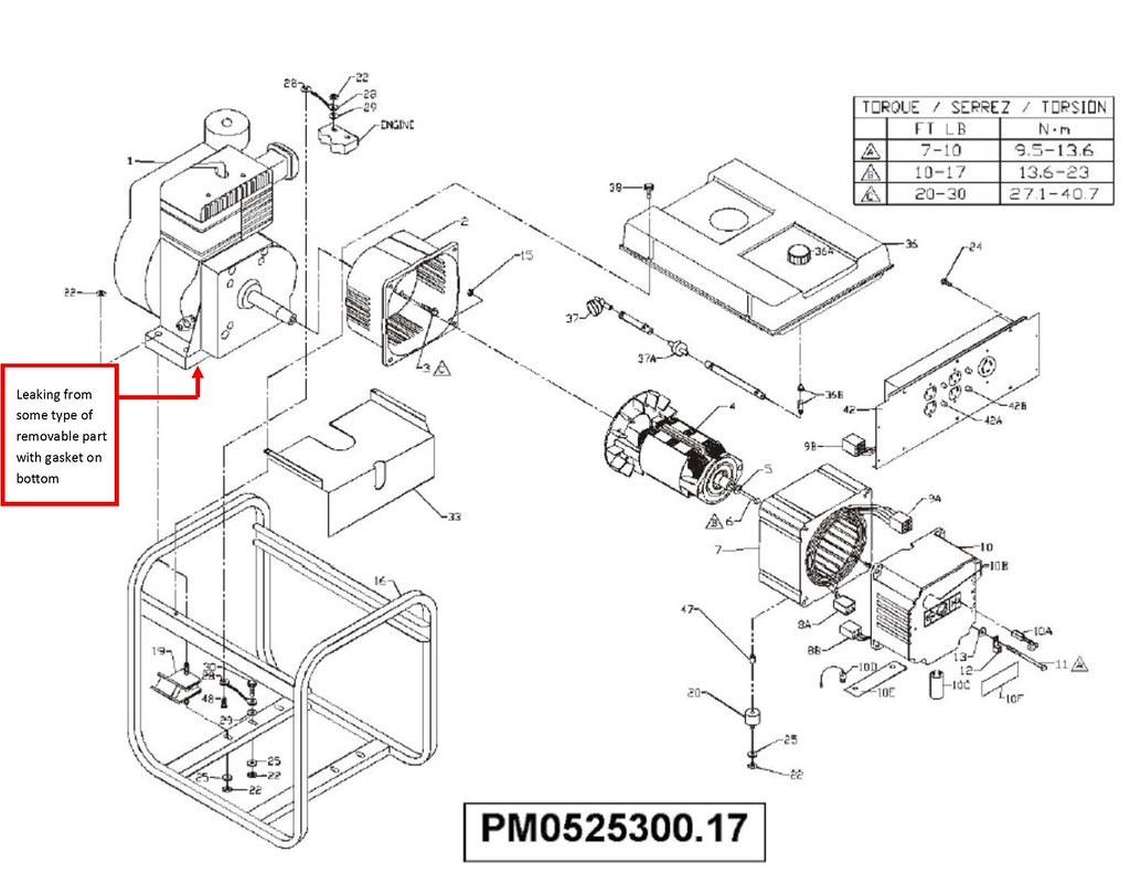 18929013710_03a529559f_b powermate genset 5500 6875 (model pm0525300 17) w tecumseh 11hp coleman generator wiring diagram at mr168.co
