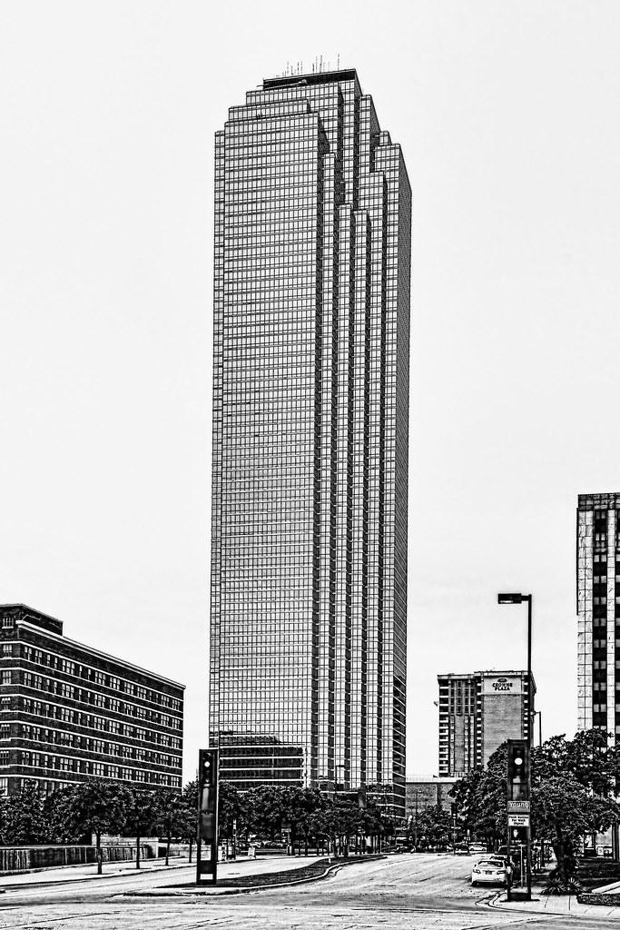 Bank Of America Plaza 901 Main Street Dallas Texas USA Architects
