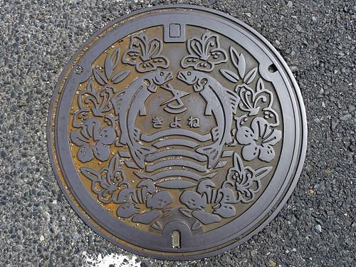 Kiyone Okayama, manhole cover (岡山県清音村のマンホール)