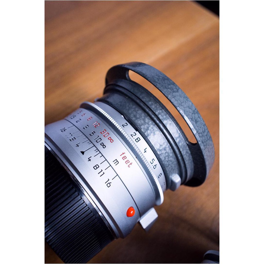 Leica Summicron M 12 35mm Asph Lhsa Hammertone Special Edition Available