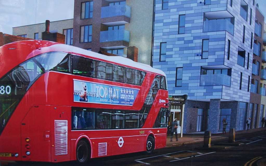 arriva london boris bus on route 80 sutton high street flickr. Black Bedroom Furniture Sets. Home Design Ideas