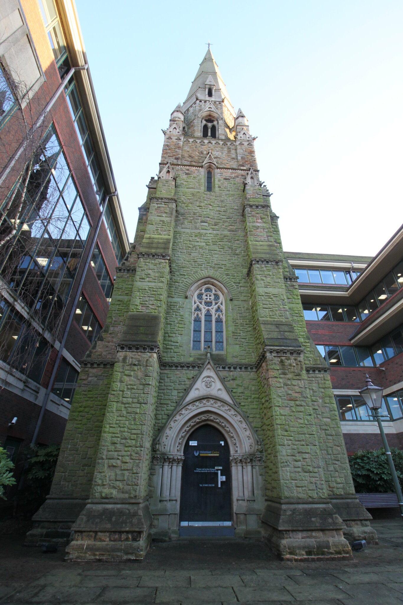 St Mark's Spire in Horsham