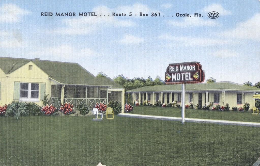 Reid Manor Motel - Ocala, Florida