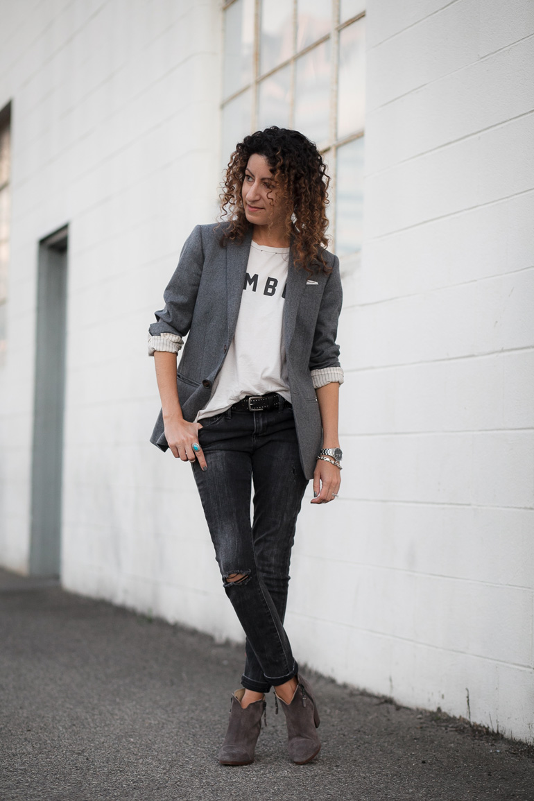 Distressed, Destroyed, Polished: How To Wear Distressed Items Without Looking Sloppy