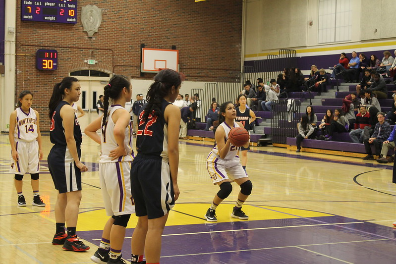 Girls basketball: MVHS vs. Lynbrook HS