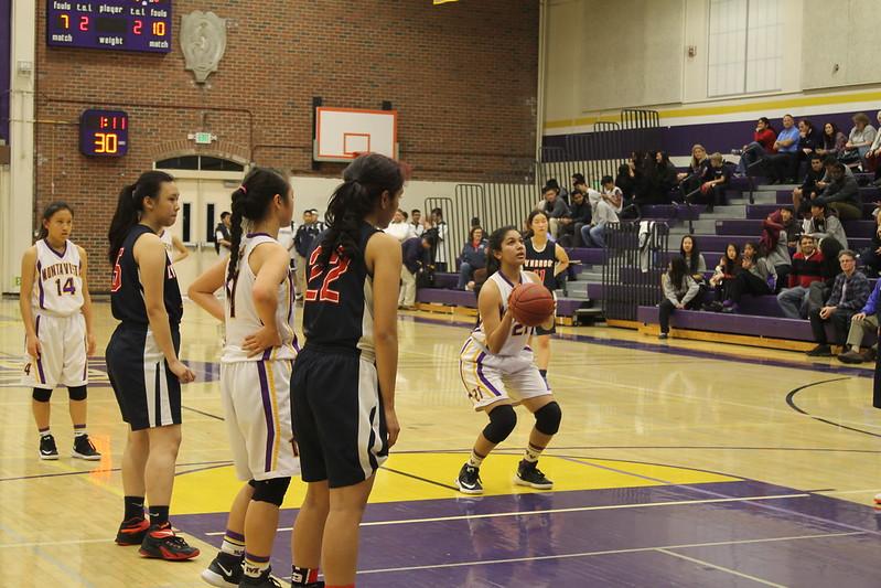 Girls basketball: MVHS vs. Lynbrook HS
