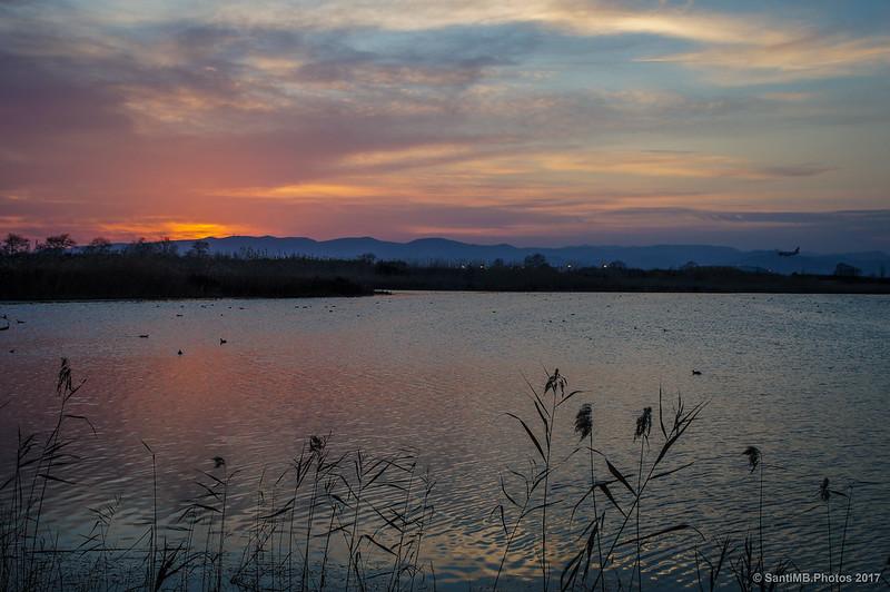 La laguna de Cal Tet desde el Aguait de Cal Tet