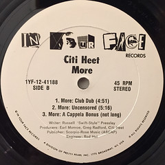CITI HEET:MORE(LABEL SIDE-B)