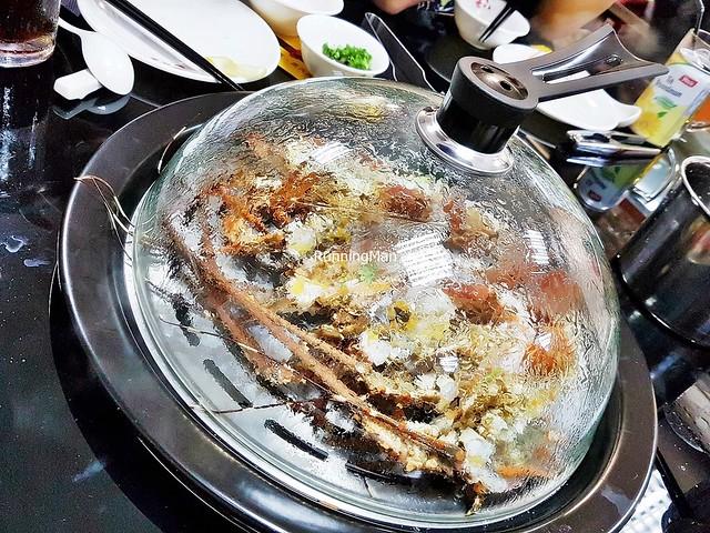 Steaming Lobsters