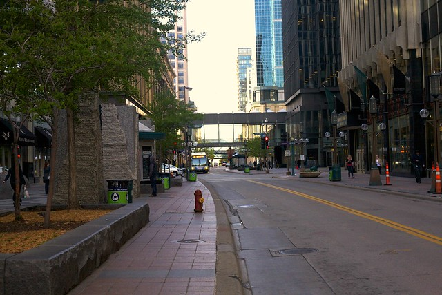 Nicollet Mall in Minneapolis, Minnesota 1