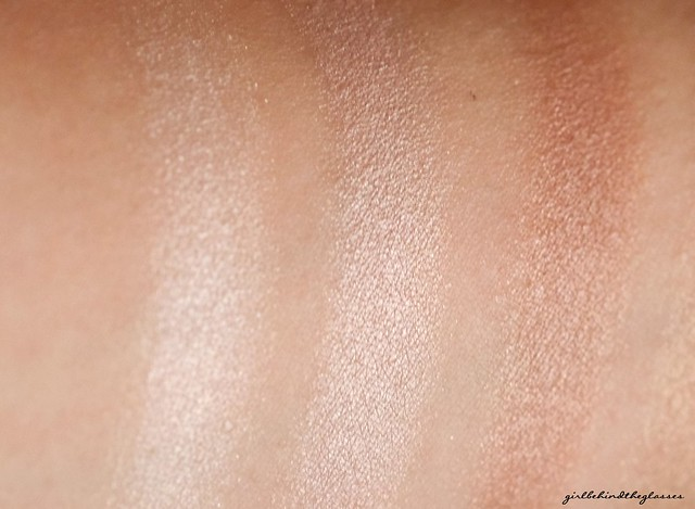 Catrice Absolute Nude Eyeshadow Palette swatches1