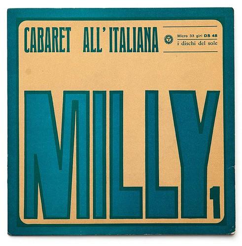 Giancarlo Iliprandi Record sleeve 1965 (18x18cm)