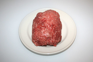 01 - Zutat gemischtes Hackfleisch / Ingredient mixed ground meat