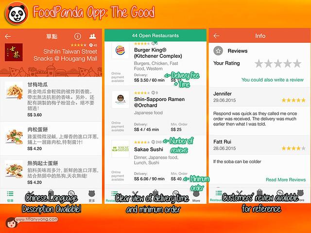 FoodPanda App Good
