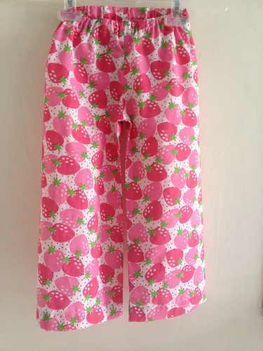 Sew-Strawberry Pyjamas