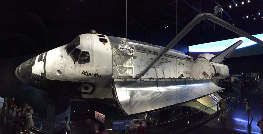 Image result for space shuttle in museum
