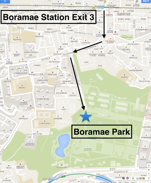 Boramae Directions