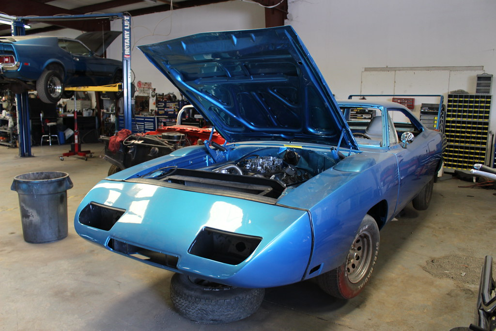 Dodge Daytona clone restoration in progress | At East Coast … | Flickr