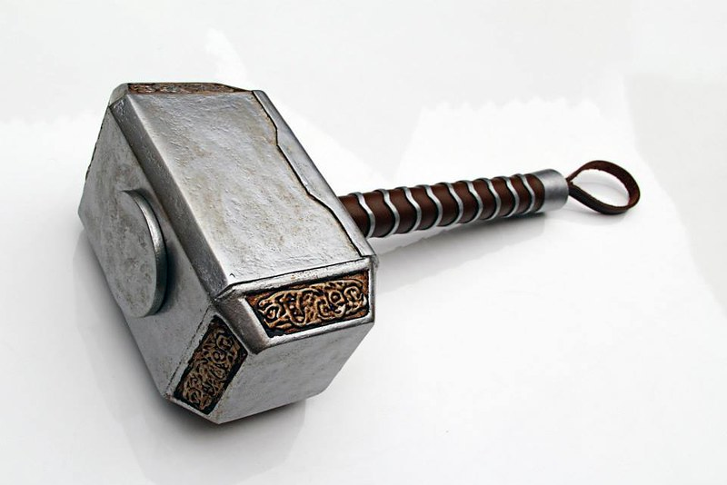 Movie, TV and comic book prop replicas by Ricardo Coutinho Dos Santos - Thor's Hammer aka Mjolnir