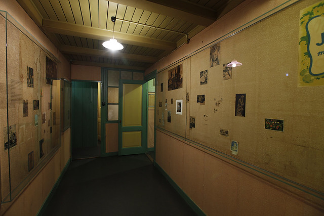 Room Anne Frank and Fritz Pfeffer in the Secret Annex
