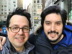 Fede con Lucas Morando de Argentina