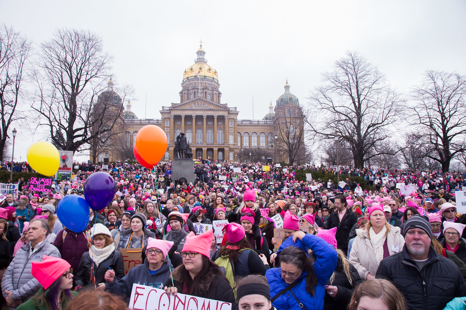 2017 Women's March - Des Moines
