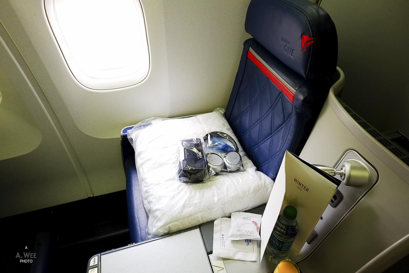 Business Class Seat 9D