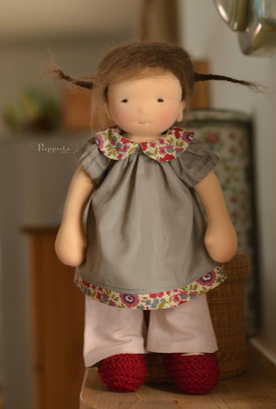 Marita, 12 inch Puppula doll