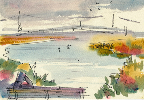Sketchbook #101: Shoreline