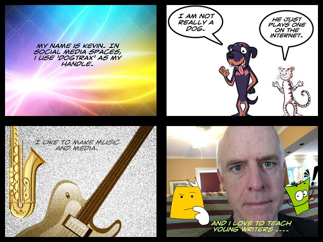 Clmooc intro in four frames