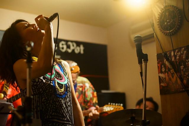 ファンク・オールスターズ荻窪 live at Charlie's Spot, Tokyo, 30 May 2015. 072