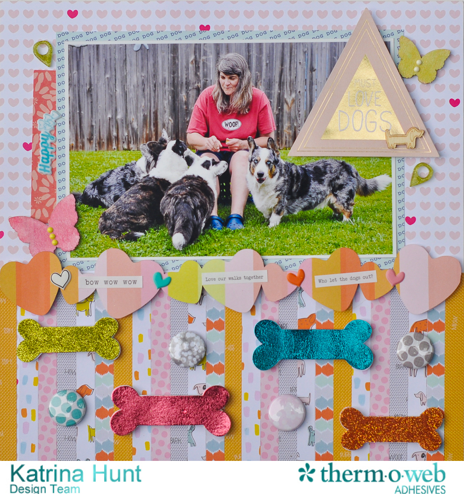 Must_Love_Dogs_ThermOWeb_DecoFoil_Scrapbook_Layout_Katrina_Hunt_1000Signed-1