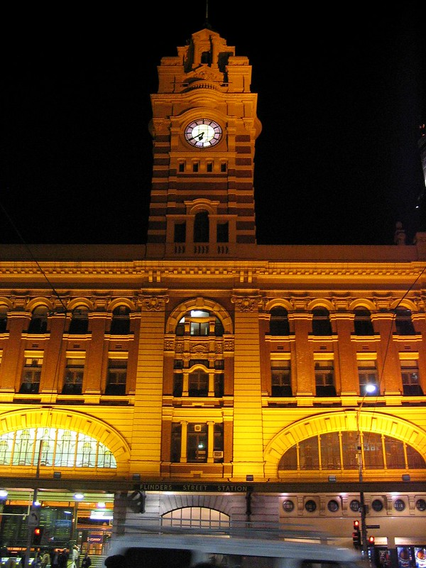 Flinders Street Station, June 2005