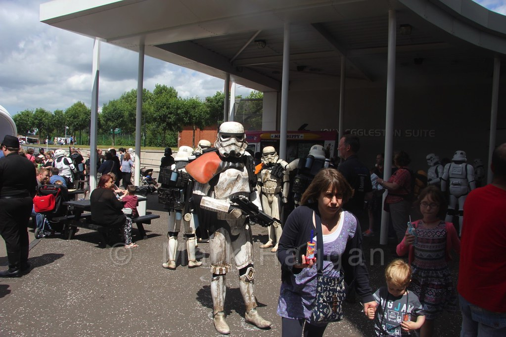The Return of the Garrison Star Wars event at the National Space Centre, Leicester