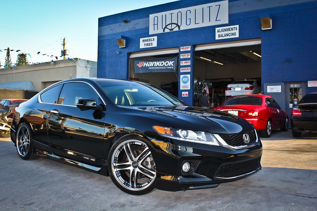 ... 2013 Honda Accord Coupe Concept One RS55 Lowered With KSport Coilovers  | By Autoglitz