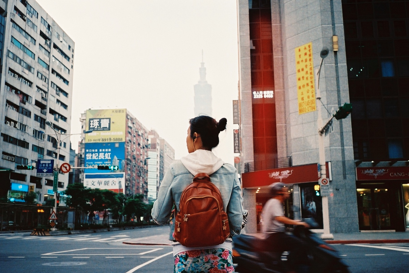 Film shot in Xinyi District, Taipei