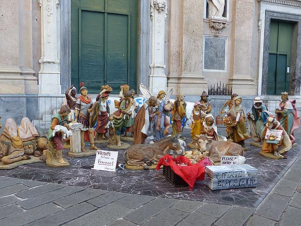 crèche à Gênes