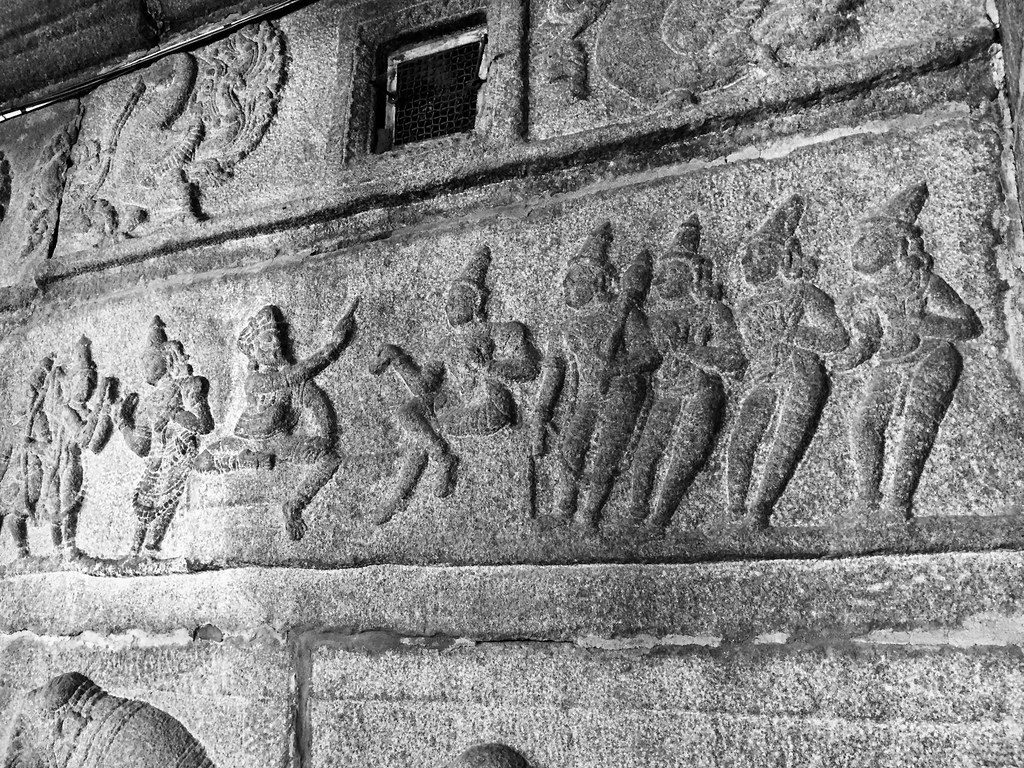 Arjuna and Shiva