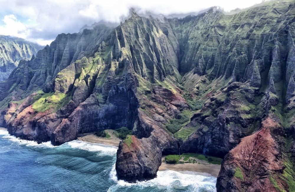 Kauai, Havaiji | Napalin rannikko