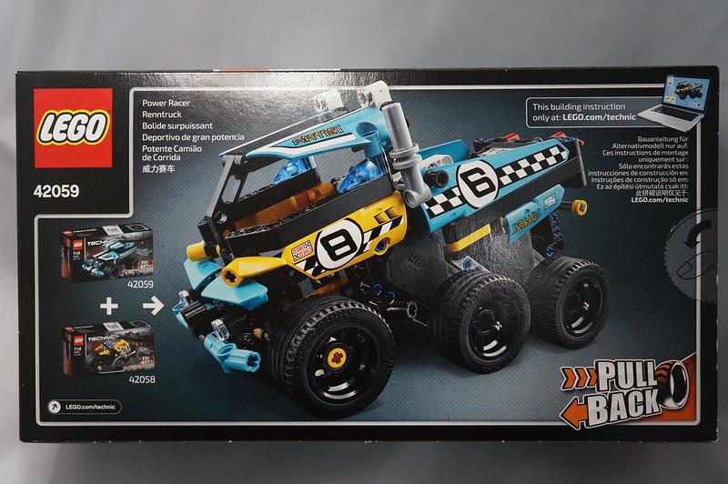 Review: 42059 Stunt Truck + 42058/42059 combiner - LEGO Technic ...